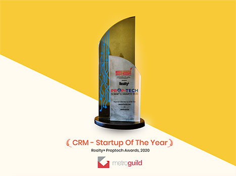 CRM - Startup of the year